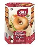 Katz Gluten Free Plain Bagels, 13 Ounce, (1 Pack)