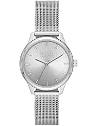 Monceau Three-Hand Stainless Steel Watch