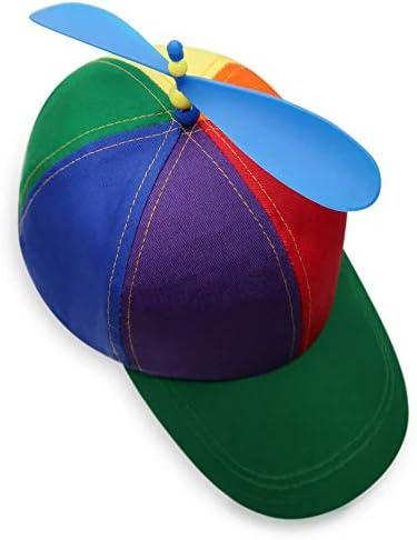 Pride Propeller Mütze für Party People | Helikopter Basecap | EMD Party Hut für Junggesellenabschiede, Paraden, Festivals, Geburtstag, Fasching, Halloween