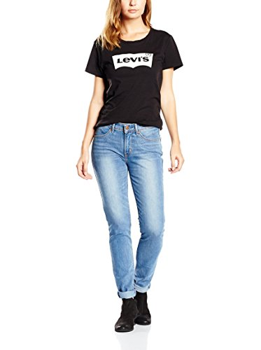 Jeans Altura Revel Levi Levi' Tubo bajo Saller tiro s® 's® q7qTI