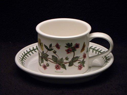 Portmeirion Botanic Garden Breakfast Cup & Saucer Drum Pimpernell