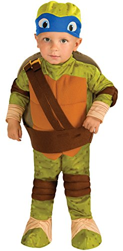 UHC Teenage Mutant Ninja Turtles Leonardo Toddler Kids Outfit Halloween Costume, 2T-4T