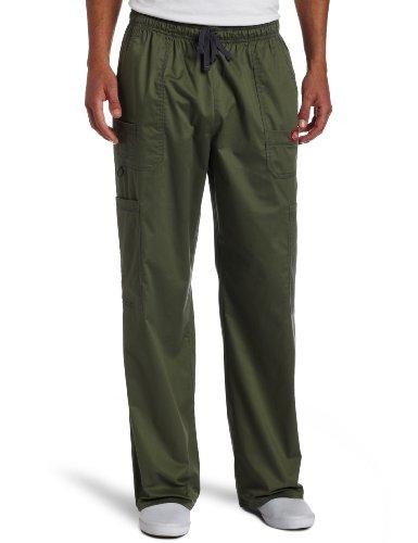 - Dickies Men's Plus Size Genflex Utility Drawstring Cargo Scrubs Pant, Olive, X-Large