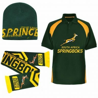 South Africa Sudáfrica Springboks Ultimate Ventilador Polo para ...