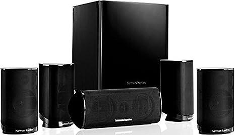 Harman/Kardon HKTS 9 Sistema de altavoces para Home Theatre de sonido envolvente de 5.1 canales, color negro: Amazon.es: Electrónica