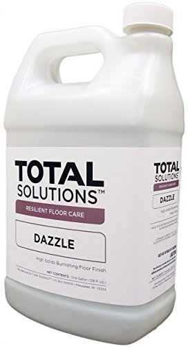 Dazzle - 22% Solids Finish, High-Gloss Multi- Surface Floor Finish - 4 Gallons by EcoClean Solutions