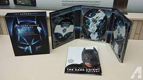The Dark Knight Trilogy (Batman Begins / The Dark Knight / The Dark Knight Rises) [Blu-ray] by Warner Bros. Home Entertainment (The Dark Knight Rises Blu Ray Steelbook)