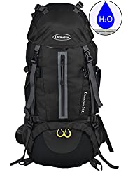 Hiking Backpack with Hydration Compatibility (50L) - Daypack With Rain Cover for Outdoor Backpacking Fishing Camping...