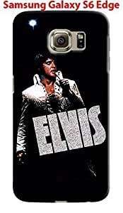 Elvis Presley for Samsung Galaxy S6 Edge Hard Case Cover (elvis15)