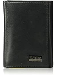 Men's Rfid Security Blocking Trifold Wallet
