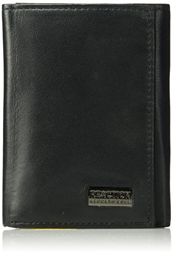 Kenneth Cole REACTION Men's Rfid Blocking Extra Capacity Trifold Security Wallet