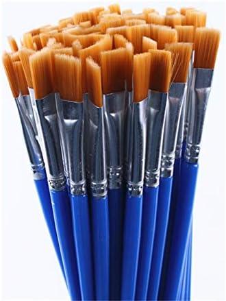 FCNBAN 20個と同じサイズ小ファインナイロン毛はブラシの描画水彩ブラシは、アーティストのサプライヤーのためのブラシペンペイントペイント (Color : 20pcs)