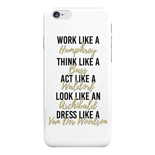 Price comparison product image Like A Gossip Girl Phone Case - Hard Plastic, Snap On Cell Phone Cover - Fun Cases - iPhone 7