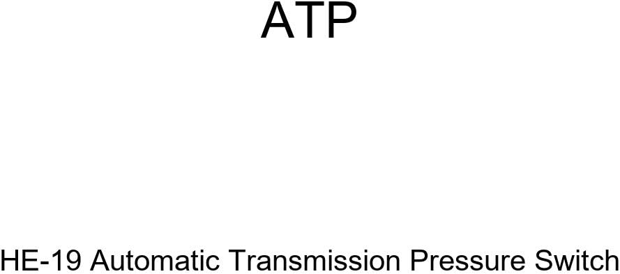 Amazon Com Atp He 19 Automatic Transmission Pressure Switch Automotive
