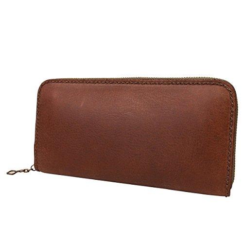 Yoshida Bag Porter Grunge Long Type Wallet Round Fastener Brown 071-04972 by Yoshida Bag