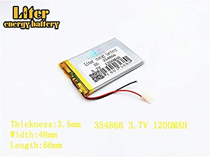 3.7V 200mAh 302530 Lithium Polymer Ion Rechargeable Battery Lithium Polymer Li-Po Battery for MP4 GPS MP3 Bluetooth Stereo DIY Gift