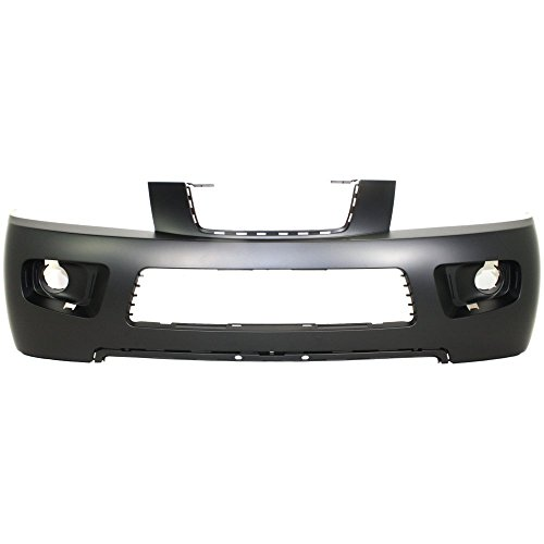 (Front, Upper BUMPER COVER Primed for 2006-2007 Saturn Vue)