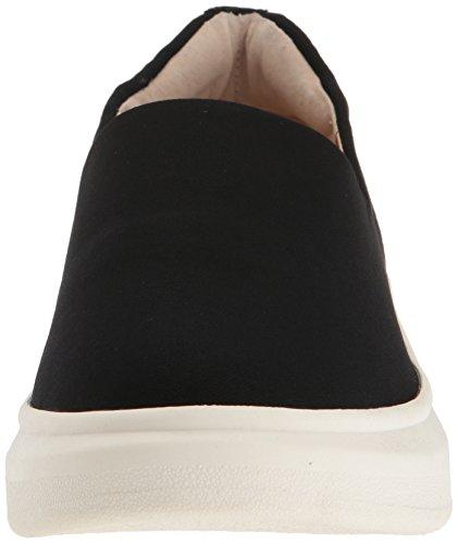 Sam Edelman Vrouwen Nerah Fashion Sneaker Zwarte Stretch Lycra