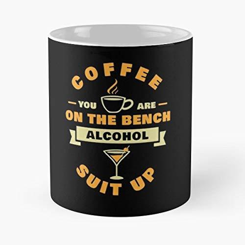 Coffee Alcohol Bench Cof Coffee,tea Mugs - 11 Oz.