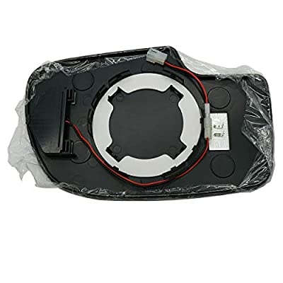 Young Heated Mirror Glass Turn Signal w/o Auto Dimming LH LF for Chevy GMC Cadillac: Automotive