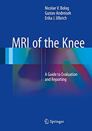 Amazon Com Mri Of The Knee A Guide To Evaluation And border=