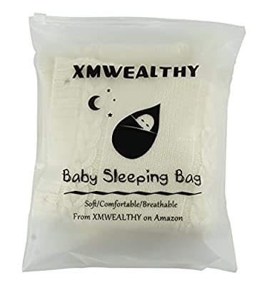 XMWEALTHY Newborn Baby Wrap Swaddle Blanket Knit Sleeping Bag Sleep Sack Stroller Wrap for Baby (0-6 Month) by XMWEALTHY that we recomend personally.