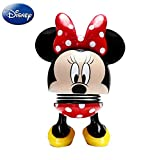 Disney Minnie Mouse Bobblehead Minnie Mouse Figure for Collectible, Minnie Mouse Action Figure Bobble Head Doll for Home, Car Decoration, Friend Gift, Black & Red Style (3.5 Inches)