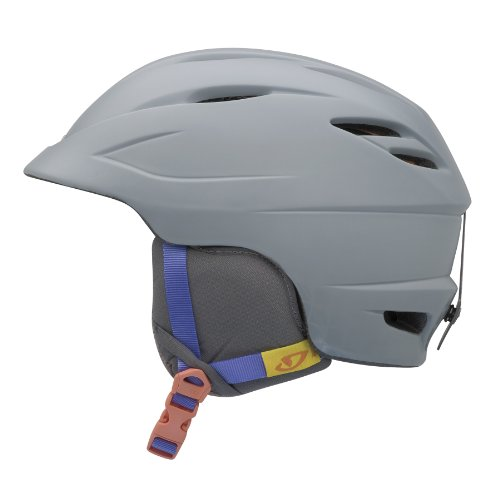 Giro Women's Sheer Snow Helmet (Matte Grey Radius, Medium), Outdoor Stuffs