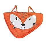 Echaprey Cartoon Animal Shape Kids Car Seatbelt Adjuster Positioner Seat Belt Safety Covers for Children (Fox)