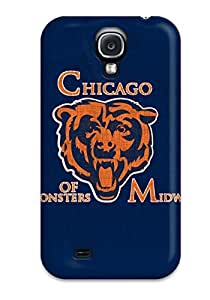 Durable Defender Case For Galaxy S4 Tpu Cover(chicagoears )