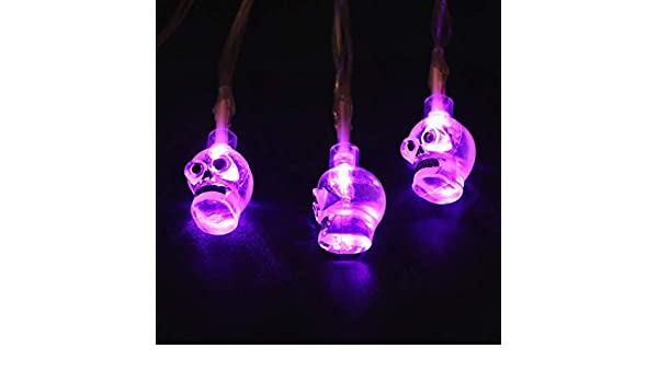 0cf0a46febc Prevently Home Guirnalda de Luces LED para decoración de Halloween ...