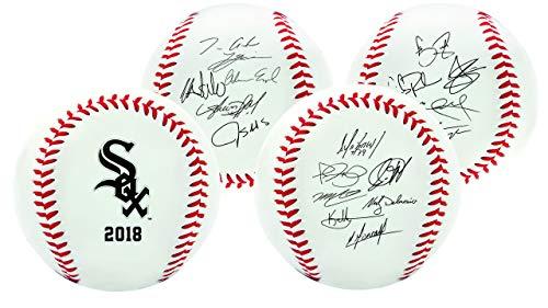Rawlings Chicago White Sox MLB Team Logo Roster Autograph Baseball