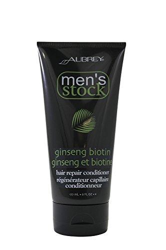 Aubrey Organics - biotine Ginseng réparer les cheveux, liquide 6 oz