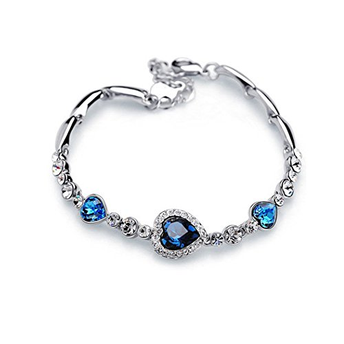 Swarovski Elements Crystal Silver Tone Bracelet product image