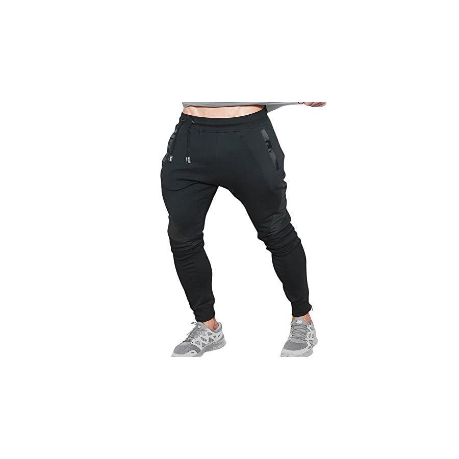 Mech Eng Men's Gym Joggers Pants Casual Slim Fit Workout Sweatpants