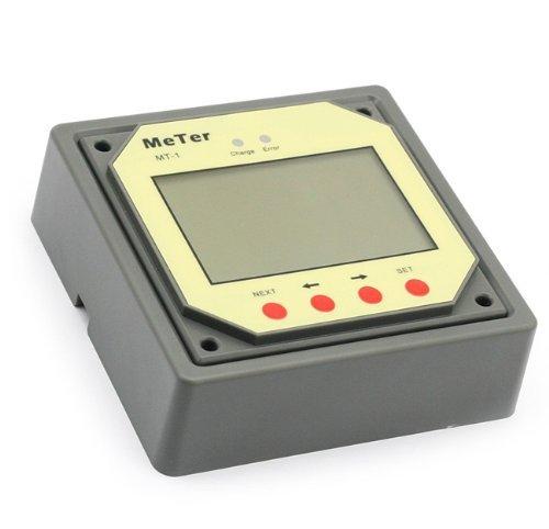 lensun® mt-1Fernbedienung Meter LCD-Display Monitor für 10A 20A Dual Akku Solar Laderegler