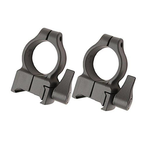 Blackpowder Products Inc. CVA, Z2 Alloy QD Scope Rings, High, - Alloy Scope Z2