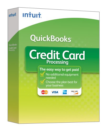 QuickBooks Credit Card Processing Kit 2009 [OLD VERSION] (Cards Intuit Business)