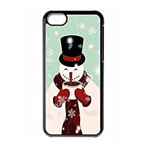 Christmas Snowman Design back shell for iPhone 5c