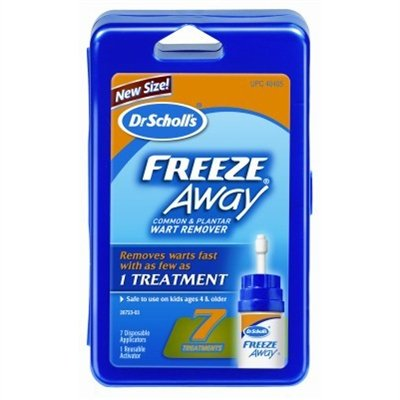 Dr. Scholl's Freeze Away Wart Remover, 7 Treatments, Box Pack of 2 by Dr. Scholl's