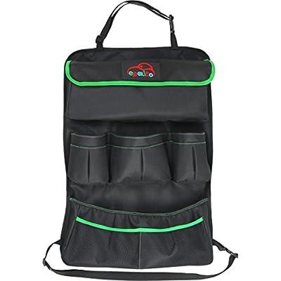 EPAuto Premium Car Backseat Organizer for Baby Travel Accessories, Kids Toy Storage, Back Seat Protector/Kick Mat: Automotive