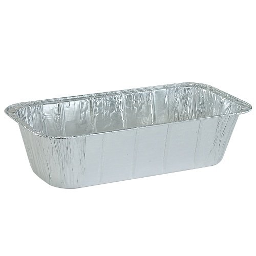 Nicole Home Collection 00602 Aluminum Loaf Pan, 1/3 Size, 5 lb. (Pack of 200) by Nicole Home Collection (Image #2)