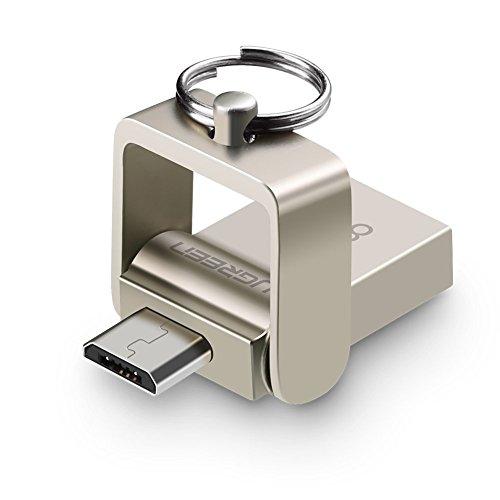 USB Sticks Ugreen 2 in 1 OTG Flash Laufwerk On The Go und USB 2.0 Speicherstick 16GB USB Memory Stick für Smartphone, Tablet, PC und mehr