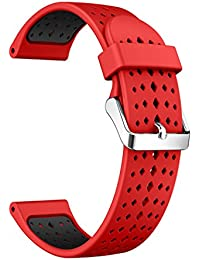 Watch Band Silicone Watch Strap Dual Color Watch Replacement Strap for Samsung Gear S3