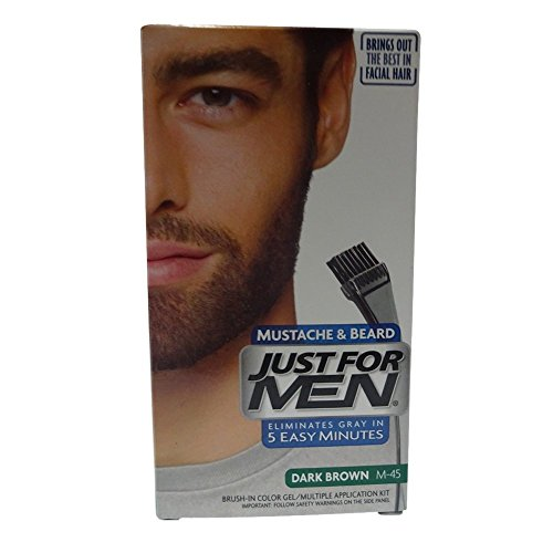 JUST Color Mustache Beard Brown product image