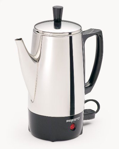 electric percolator stainless - 8