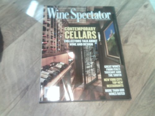 Wine Spectator 2013 October 31 (On the cover: Contemporary Cellars. Collectors talk about wine & Design)