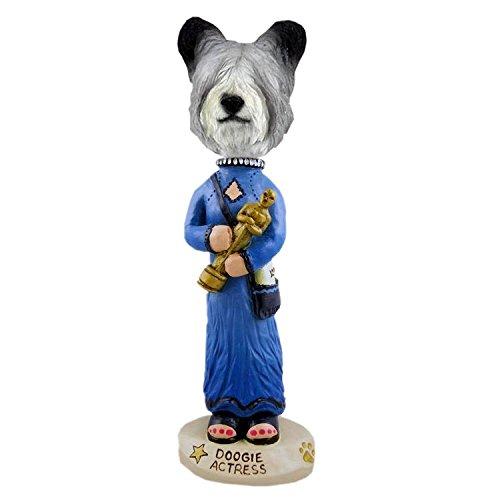 (Conversation Skye Terrier Actress Doogie Collectible Figurine)