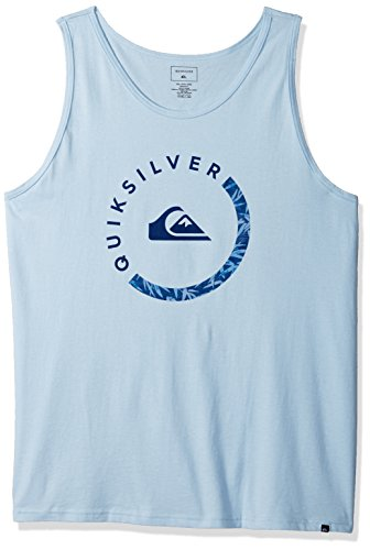 Quiksilver Men's Logo TOP TEE Shirt, Slab Sessions Tank Angel Falls, XL