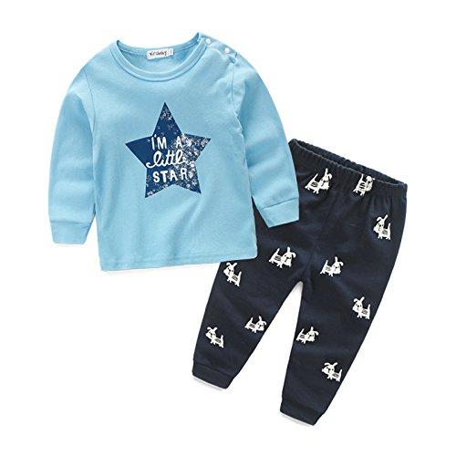 Ropa para niños Pantalones de algodón de manga larga 5ffac3b6572e